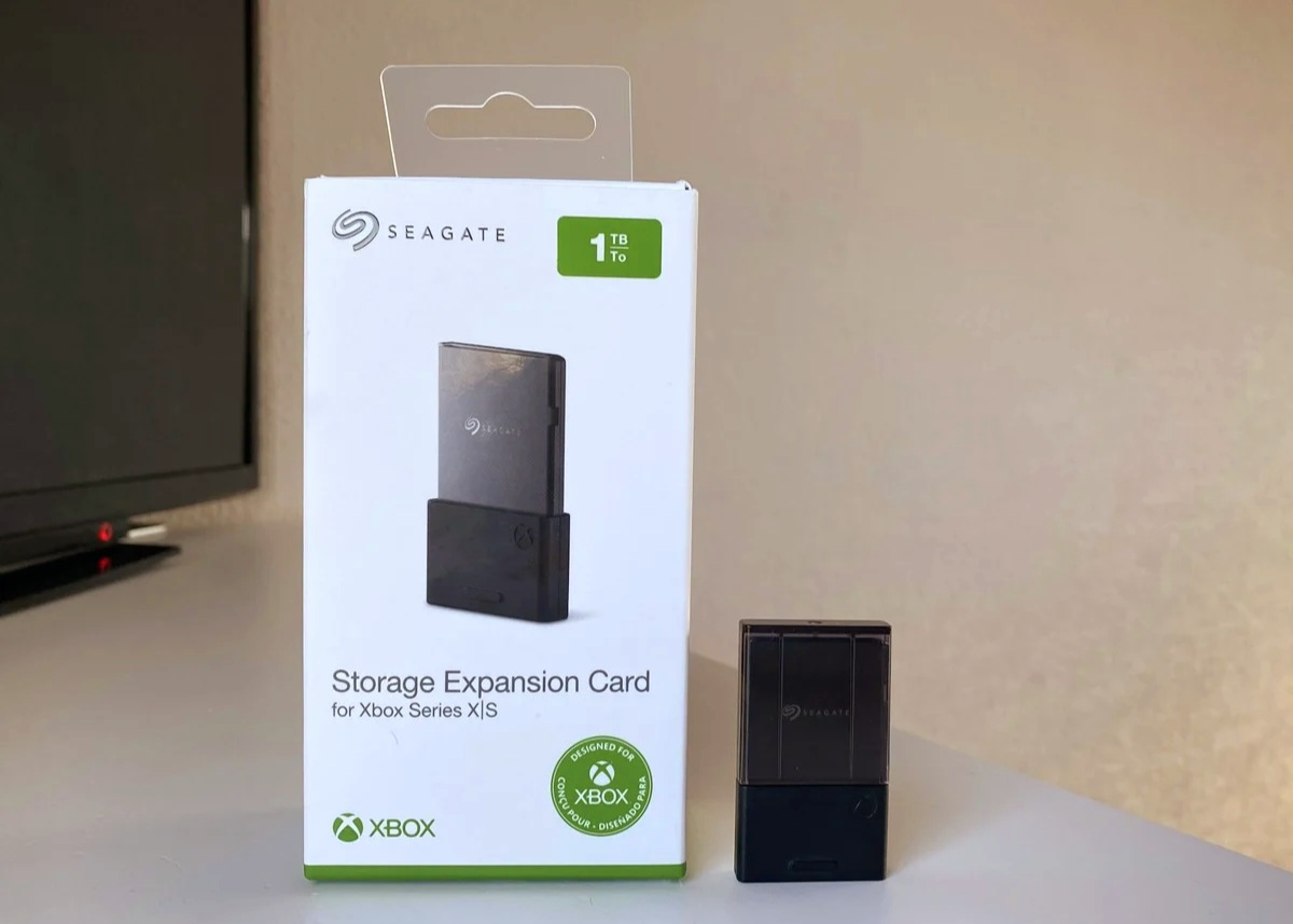 Xbox Seagate 1tb в упаковке. внешний вид